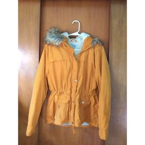 Yellow Charlotte Russe jacket